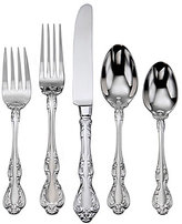 Oneida Mandolina Traditional Scroll 65-Piece Stainless Steel Flatware Set