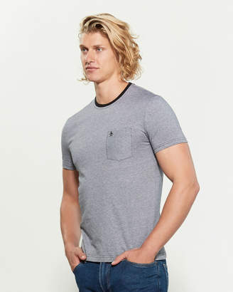 Original Penguin Feeder Pocket Stripe Short Sleeve Tee