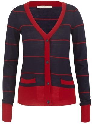 Sessun Navy Wool Knitwear for Women