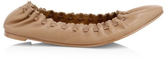 See by Chloe Jane Leather Ballet Flats