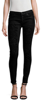 Hudson Ciara Exposed Button Skinny Jean