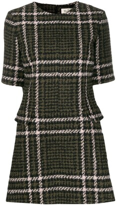 Mulberry Jeanna checked dress