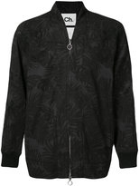 Chapter printed jacket - men - Cotton/Polyurethane - S