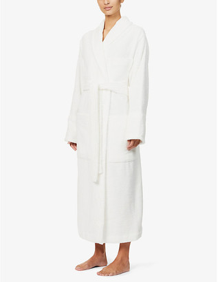 Tekla Classic organic-cotton towelling robe