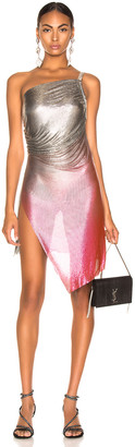 Fannie Schiavoni for FWRD Lola Dress in Silver & Pink | FWRD