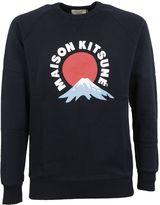 Kitsune Navu Mont Fuji Sweatshirt
