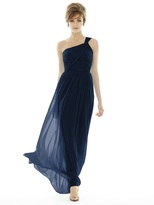 Alfred Sung D691 Bridesmaid Dress in Midnight