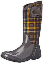Bogs Women's North Hampton Plaid Waterproof Insulated Boot