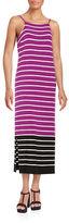 Vince Camuto Striped Knit Maxi Dress
