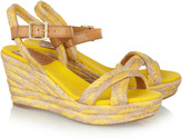Tory Burch Camelia espadrille wedge sandals