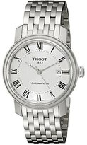 Tissot Men's T0974071103300 Bridgeport Analog Display Swiss Automatic Silver Watch