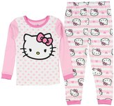 Hello Kitty Toddler Girls' 2 Piece Pajama Set
