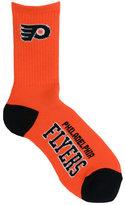 For Bare Feet Philadelphia Flyers Deuce Crew 504 Socks