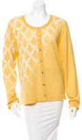 Prabal Gurung Embellished Scoop Neck Cardigan