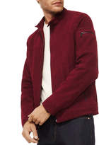Michael Kors Men's Perforated Leather Racer Jacket