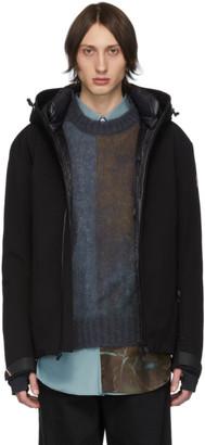 MONCLER GRENOBLE Black Down Praz Jacket