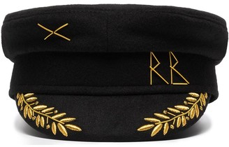 Ruslan Baginskiy Embroidered Wool Cap
