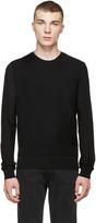 DSQUARED2 Black Layered Zip Sweater
