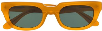 Han Kjobenhavn Rectangular-Frame Logo Glasses