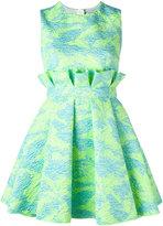 MSGM jacquard mini dress - women - Polyamide/Polyester/Metallic Fibre - 38
