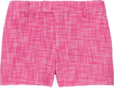 Juicy Couture Woven cotton and linen-blend tweed shorts