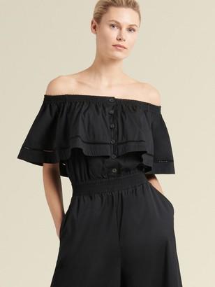 DKNY Off-the-shoulder Jumpsuit