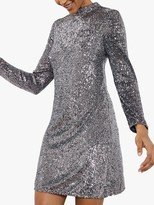 Mint Velvet Sequin Mini Dress