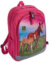 John Deere Girls Photoreal Horse Backpack