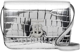 Burberry Small Metallic Embossed Bag