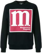 Mastermind Japan Regards logo sweatshirt