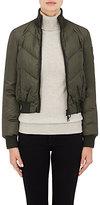 Rossignol Women's Crop Puffer Jacket-DARK GREEN