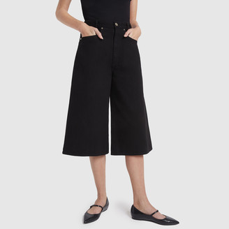 Gold Sign The Culotte Jeans