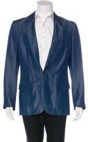 Maison Margiela Indigo-Dyed Two-Button Sport Coat