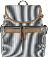 Accessorize Marley Stripe Backpack - Navy