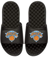 ISlide NBA New York Nicks Primary Slide Sandal, Black