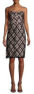 Milly Textured Dots Sheath Dress
