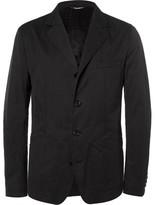 Dolce & Gabbana Black Slim-Fit Cotton-Blend Gabardine Blazer