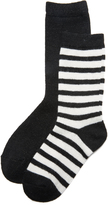 Kate Spade Stripe Sparkle Sock Set