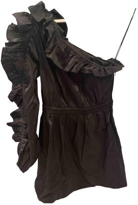 Ulla Johnson Black Silk Dresses