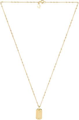 Gorjana Dog Tag Necklace