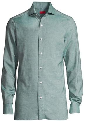 Isaia Navetta Oxford Shirt