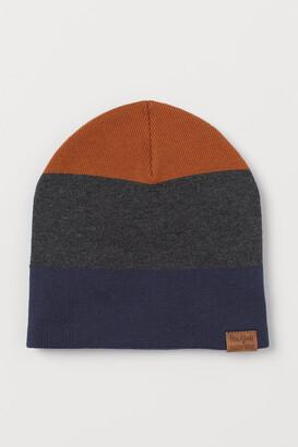 H&M Fine-knit Hat - Orange