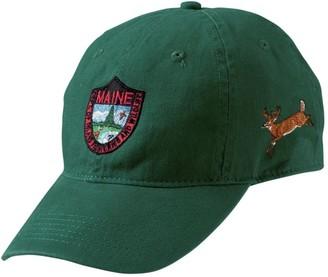 L.L. Bean Men's MIF and W Baseball Cap, Deer