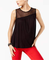 INC International Concepts Asymmetrical Illusion Tank Top, Created for Macy's