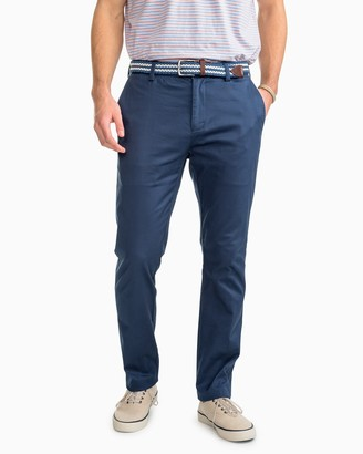 Southern Tide Channel Marker Chino Pant - Dark Denim