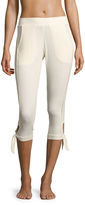 C&C California Women's Lace Trim Jogger Pants