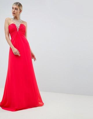 Jovani Embellished Neck Dress
