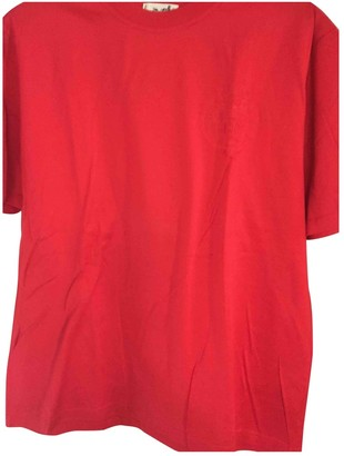 Hermes Red Cotton Tops
