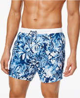 HUGO BOSS HUGO Men's Tapered Floral Board Shorts