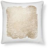Threshold Metallic Square Decorative Pillow Cream